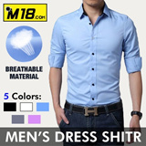 【M18】 2014 Autumn new style men shirt / spliced and long sleeved male shirt/ handsome and fashionable / business  and casual men  shirts 031917-C15