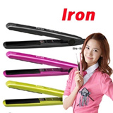 5000pcs sold Girls generation ELRA Portable Mini Magic Hair Iron compact straightener From Korea win