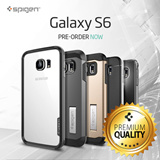 Spigen Samsung Galaxy S6 Case Galaxy S6 Casing *Authentic Guarantee* Made In Korea free local delivery etc bluetooth headset gift iPhone 6 case iphone 6 plus case note 4 case