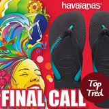 Havaianas Top Tred flip flops 100% Authentic Free Shipping direct from KOREA! christmas gift