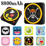 Cartoon 8800 mAH Disney Power Bank Portable Charger USB External Backup Battery for iphone 5 6 Plus Galaxy S5 Note3 Xiaomi