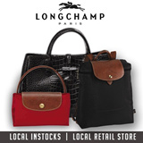 ★100% AUTHENTIC★ LONGCHAMP BAGS LOCAL SG RETAIL STORE LADIES HANDBAGS TRAVEL BAGS LUGGAGE