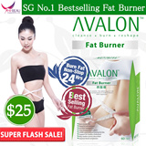 [3 DAY SALE! UP $79.90] SG #1 Best Selling AVALON™ Fat Burner ★ No Diuretic / Caffeine / Laxative / Appetite Suppressant ★ Safe Slimming ★ Weight Loss ★ Diet