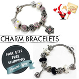 【MyShoppingPlace】 Christmas Gift ★Charm Bracelets ★Bangles ★Free Fashion Beads★Jewelry Accessories★ Xmas★Birthday★Gifts★Sale★Free Shipping★SG Seller