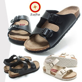 ★ZARPAR Sandals★Cork/Natural Cowhide/EVAVOBU/HARA/RUNA/Black/White/Brown/Woman/Man/NEW READY STOCK/gobiz-025
