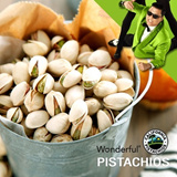 [Wonderful Pistachios] hazelnuts pecans walnuts almonds cashews Orignal Premium food