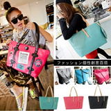 [buy 2 free shipping]Korean style women handbag/Tote Bag/Leather bag/Handbag