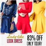 300Style New ★new fashion Ladies Dress/Skirt★Long sleeve loose fit Dress collection/Mini Dress/Forma .