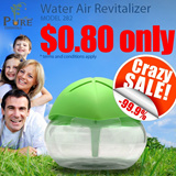 ★CRAZY SALE!★ Best Seller Cheapest In Singapore! Air Revitalizer/ Water Air Purifier/ Revitalisor/ Passive Humidifier/ Aromatherapy Repels Mosquitoes/ Eliminates Haze!