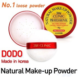 (Stock in SG )Authentic 3W Clinic DODO Natural Make-up Bright Powder (30g)