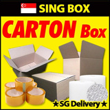 [Sing Box]Made in KOREA★Carton Box/Tape/AirCap★SG delivery/Packing Box/B Ribbing/Storage Boxes /New Carton Box Packaging Moving House Masking Tape Plastic Wrap Cling Bubble Wrap On Mailing Paper