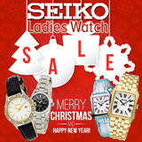 ☆☆ CHRISTMAS GIFT ☆☆ Seiko Ladies Watches [up to 50% offer]