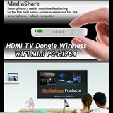hi764 hi763 hi763S New wifi Display Sharer iPush Media Share HDMI TV Dongle Wireless Transmission Interactive WiFi Mini