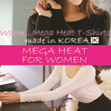 ★KOREA BRAND★2014 New Arriva★ heat inner ultra thin thermal underwear for women Mega Heat / SKIN GUARD