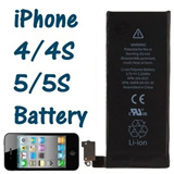 Genuine Apple iPhone 4 / 4S / 5 / 5S Replacement Battery