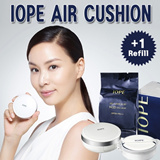 [IOPE]★Air Cushion XP COVER SPF50+ PA+++/15g + Refill 15g/Buy 1+Gift 1/UV Protection Foundation/Moisturizing radiance/Long-lasting