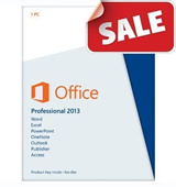 Genuine Microsoft Office professional plus 2013 / 2010  Retail Edition For 1 PC (Promotion Gift-AVG Internet Security 3PC/3 Year -limited sale)