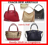 AUTHENTIC COACH READY STOCK IN SG-2015 NEW COLLECTION ADDED