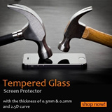Tempered Glass Screen Protector Thickness 0.2mm 0.3mm 2.5D For Apple iPhone 6 6 Plus 5 5S 5C 4 4S iPad Air Mini Samsung Tab S 8.4 10.5 Note 2 3 4 S4 S5 Sony Xperia Z1 Z2 Z3 Xiaomi Redmi Note LG G3