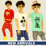 U73 South Korean flavor ★ ★super cute children. Child / Infant / boys and girls T-shirt + shorts ★ matching