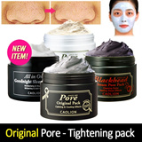 [Caolion] ★Pore Pack Series! [Get Free Samples!] White cake pack/ Premium blackhead pore pack/Premium blackhead O2 bubble pore pack/ New!! Goodnight Sleeping Pack. Pore tightening booster pack Added!