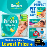Baby Dry Easy Ups Swaddlers Cruisers - World No.1 Diapers! Free and Speedy Delivery! Lowest Price in SG!