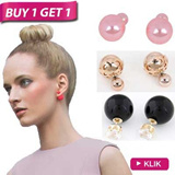 [BUY 1 GET 1] Anting // Pearl // Earrings // Korean Style // Banyak Model