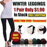 SG Delivery!Special Price 1 for $1.90! Buy 4 Free Shipping!Winter Leggings {Fast DELIVERY}  hot add fertilizer increased with velvet Leggings/thickening waist/cashmere nine Pants/very warm