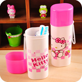 [One Space] hello kitty Travel toothbrush case  / travel convenience good / pencil box / school stationary
