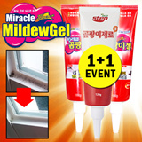 ★Miracle Mildew Gel 1+1★99.9% removal/Bathroom/kitchen/Mildew/Silicon mold removal/Sodium hypochlorite/sodium hydroxide/non-ionic surfactants/distillation point/gobiz-121