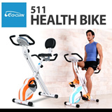 511 FOLDING EXERCISE BIKE/Fitness Cycle/Home cycle/X-bike/Fitness equipment/Aerobic Exercise/Diet/Full body aerobic exercise
