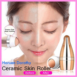 Haruen Dorothy Ceramic Skin Roller/Massage Ice Roller for Face and Body Massage (facial skin and preventing wrinkles)