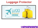 *TapesNFrens* Luggage Cover / Luggage Protector
