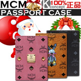 Kconcept◆Holiday Gift◆MCM shopping bag+card◆MCM Authentic 2014 new arrival Passport case/Passport wallet/ Passport Pouch /New types comming!/MZZ1ZXL02CO/ MZZ1ZXL02PK