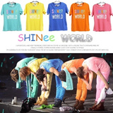 SHINEE Colorful T-shirt ★SHINee WORLD ★Concert Tops ★