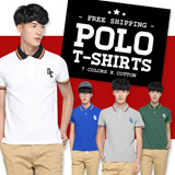 [Fashion Link] Mens Polo T Shirt | Tee | Top | Cotton | Quality Guaranteed | 7 Attractive Colors Available | Local Seller | Instocks Ready! | Free Shipping (T001)