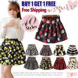 【SG Delivery】【 Limit 100 Set Only】BUY 2 FREE SHIPPING 2015 Spring Festival Flower Printer Skirt 40 Styles【FREE SHIPPING】Limited time offer