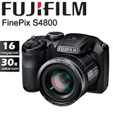 [Fujifilm]Fujifilm FinePix S4800 FREE Case and 4GB SD *30X Zoom and 16 Megapixel* Super Macro mode down to 2cm*1 Year Fujifilm Singapore Warranty*
