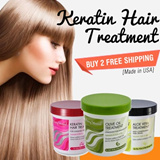 BUY 2 FREE SHIPPING! [Special Promotion $15.90! Made in USA]  Everystrand Hair Treatments /Olive oil treatment / Keratin treatment / Aloe Vera Treatment