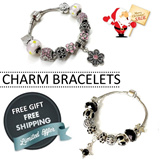 【MyShoppingPlace】 Christmas Gift ★Charm Bracelets 1★Bangles ★Free Fashion Beads★Jewelry Accessories★ Xmas★Birthday★Gifts★Sale★Free Shipping★SG Seller