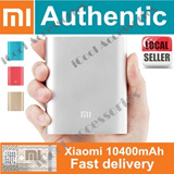 Authentic XIAOMI 10400mAh PowerBank /S$19.99 Only/Portable Charger★ Support pass through charging★Limited Quantity Available/iPhone Samsung LG