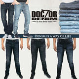 Dr. Denim Man Collection_14 Style_Slim Fit/Regular Fit_Comfortable Material and Cutting