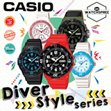 [CHEAPEST PRICE IN SPORE] *CASIO GENUINE* MRW200H /LRW200H DIVER STYLE WATCHES! Free Shipping and 1 year warranty!