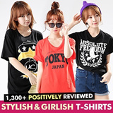 ★Free shipping!!!★KOREA MEGA HIT 88% OFF★ [Top Shop] women fashion women clothing Plus Size T-Shirts Over 100 Style Customer Satisfaction CNY