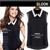 Stylish 2015 Spring Festival US/UK Style Chiffon Top 30 Design Limited time offer