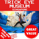 Trick Eye (TrickEye) Museum Admission Ticket. Best Price Guaranteed! FREE SURE-WIN LUCKY DIP :D