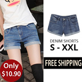 Denim shorts comes in plus size