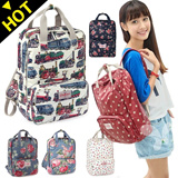 XX61 Leisure backpack / female bag / bag ★ travel bags backpacks / South Korea series academy high quality backpack / backpack / school bag / flower / Dot / cute!