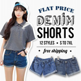 【SG Delivery Free Shipping】【BUY 2 FREE SHIPPING】Denim Shorts /Jeans 11 Style XS-7XL Limited time offer