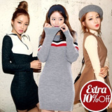 ★Get 10% OFF for Every $10 Purchase★Korean No.1 Top PLAN.J / Mini dress t shirts blouse worlwid trendy items sleeveless beach w